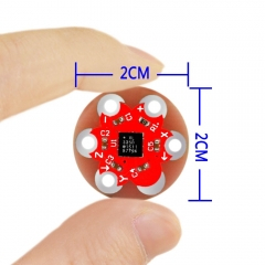 Free shipping!Keyes wearable ADXL335 three axis acceleration sensor module for Lilypad