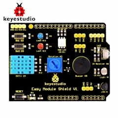 Free shipping!Keyestudio Multi-purpose Shield V1 for Arduino Starter
