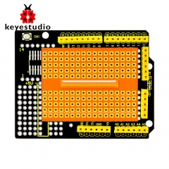 2017 new! Keyestudio protoshield for Arduino with mini breadboard