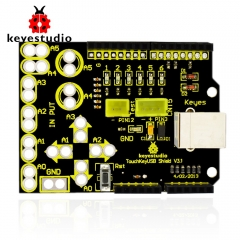 Free shipping ! New keyestudio Touch Key USB shield  for arduino