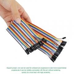 Free shipping! (3pcs/lot)  20CM  40Pin Female to Female  high quality jumper wire for Breadboard