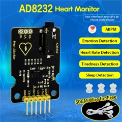 Keyestudio AD8232 ECG Measurement Heart Monitor Sensor Module for Arduino UNO R3