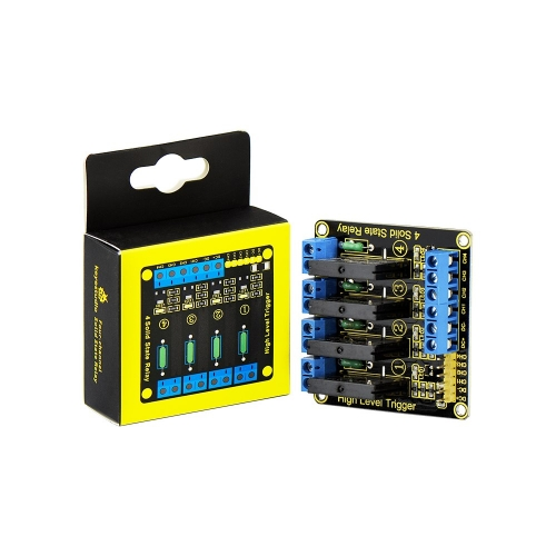 Free shipping! Keyestudio Four Channel Solid State Relays module for Arduino