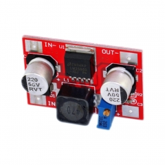 Free shipping! LM2596 DC-DC Adjustable Step-Down module Input 4.5-30V Output 1.25-26V (BEA2)
