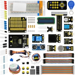 KEYESTUDIO Ultimate Starter Learning Kit for Raspberry Pi 3 2 Model B/B+ w/Tutorial, ADXL345, HC-SR04 Ultrasonic,lcd 1602