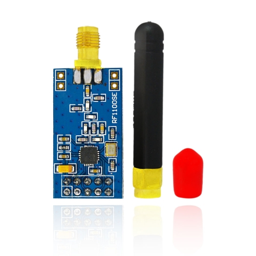 1Pcs Hi-Q CC1101 /RF1101Wireless Transceiver Module with SMA Antenna for Arduino