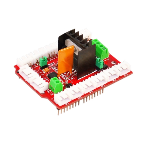 New L298N motor shield dual high current  motor drives compatible for Arduino.