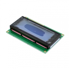Freeshipping !  LCD 2004 20x4 Character LCD Display Module HD44780 Controller blue screen backlight forarduino