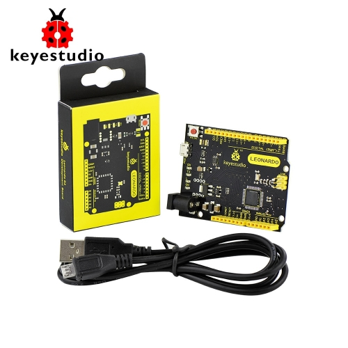 KEYESTUDIO ATmega32U4 leonardo R3 development board +1M Micro USB Cable For  DIY  Project