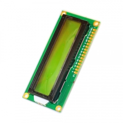 Free shipping! 2PCS Raspberry Pi  LCD 1602 Yellow and green screen with backlight LCD display LCD-1602-3.3V