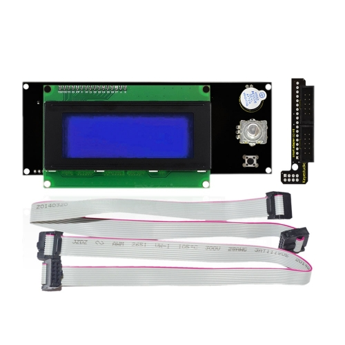 Free shipping !New!  Keyestudio RAMPS1.4 2004 LCD Display Controller Panel Board for Arduino 3D printer
