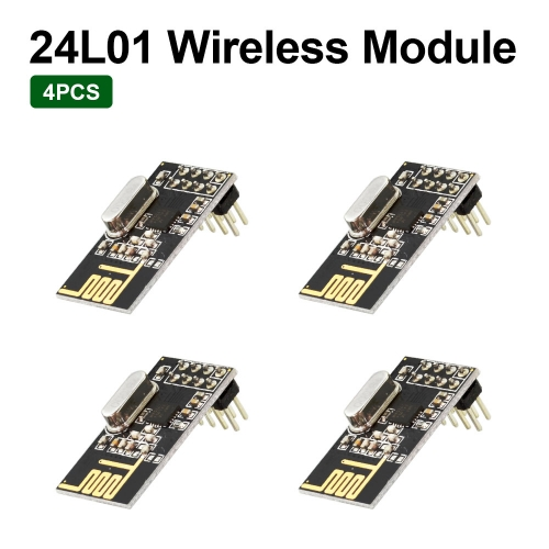 4PCS NRF24L01 2.4GHz Wireless Transceiver RF Transceiver Module With Keyestudio Packing Box for Arduino