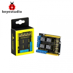 Keyestudio 4 channel 5V  Relay Shield module for Arduino UNO R3