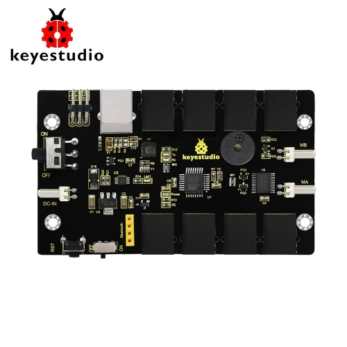 Keyestudio KEYBOT Programmable Education Robot Control Board Atmege328P-AU For Arduino