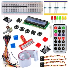 Free shipping! Raspberry PI Kit for Arduino starter with 1602 LCD +White remote control
