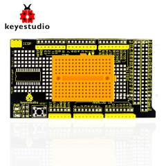 Free shipping !Keyestudio MEGA Protoshield/prototype expansion board V3 for Arduino+breadboard