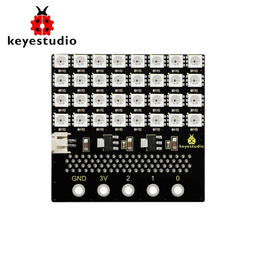 KEYESTUDIO SK6812 4X8 32 Bit  LED Dot Matrix Shield For Micro Bit