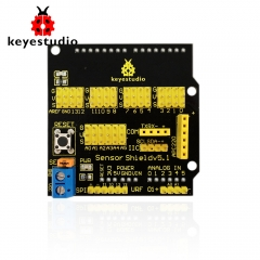 Free shipping ! Keyestudio Sensor Shield/Expansion Board V5 for Arduino
