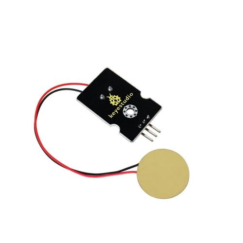 Analog Ceramic Piezo Vibration Sensor Module Piezoelectricity for Arduino UNO