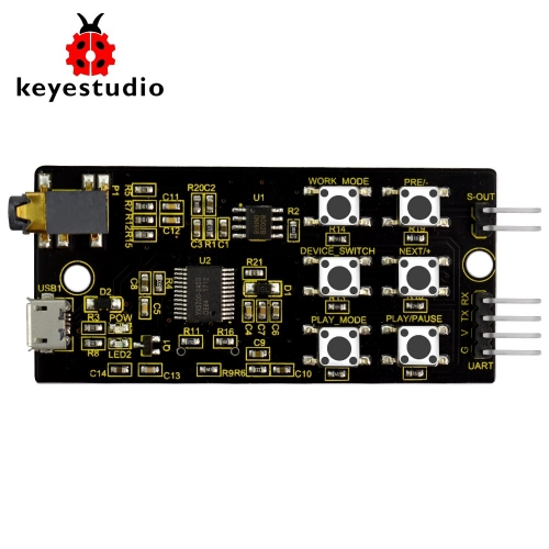 Keyestudio YX5200-24SS MP3 Module for Arduino