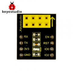 Arduino ESP8266 WIFI를위한 Keyestudio ESP-01S 와이파이 모듈 어댑터 보드 / Keyestudio ESP01S Wifi Module Adapter Board for Arduino (Black and Ecofriendly)