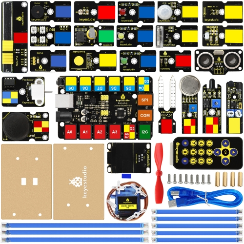 keyestudio EASY plug Ultimate Starter Kit for Arduino STEM EDU
