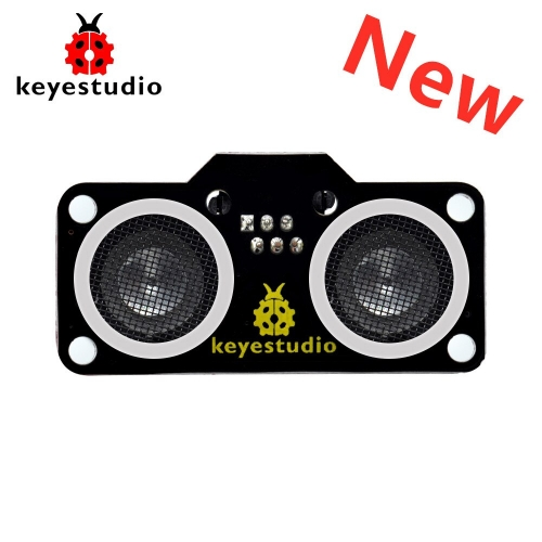 Newest! Keyestudio RJ11 Easy Plug SR01 Ultrasonic Sensor Module V2.0( N76E003AT20) for Arduino Robot Car