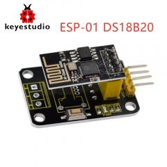 Keyestudio ESP-01 DS18B20 Temperature Module+ESP-8266 WIFI Module For Arduino UNO R3