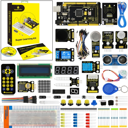 Keyestudio Super Starter Kit/Learning Kit With Mega 2560R3 For Arduino Education Project +PDF(online)+32Projects+Gift Box