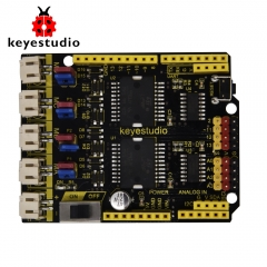 keyestudio 4 Channel  L298P Motor Drives Shield V1.0 for Arduino Robot