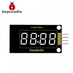 keyestudio 4-digit LED Display Module  TM1637 for  Arduino