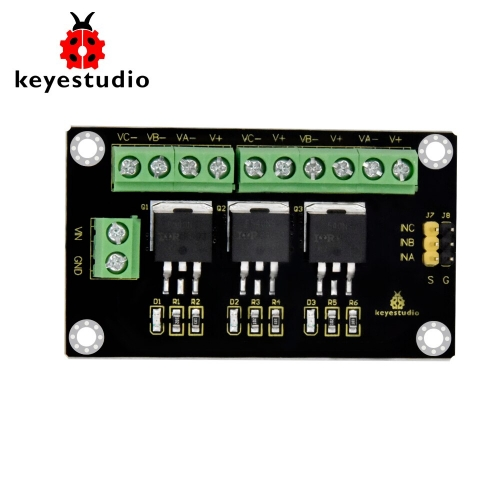 Keyestudio 3-way Channel IRF540NS High Current MOS Tube Module for  Arduino