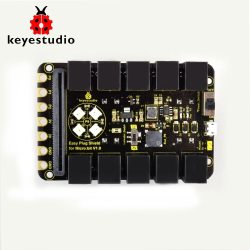 Keyestudio EASY Plug  RJ11 6P6C Shield V1.0 for Micro:bit