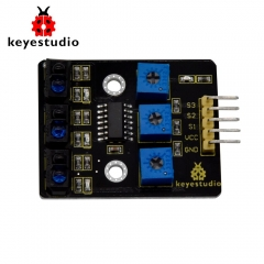 Keyestudio 3 Channel Infrared Tracking Sensor Module IR Line Patrol For  Arduino DIY Smart Car