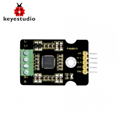 Keyestudio  PAM8610 Digital Power Amplifier Board Dual Channel  Audio Stereo Module for  Arduino