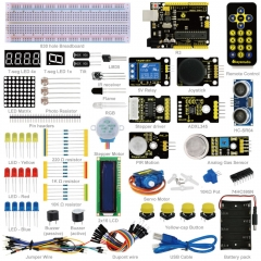 Free shipping !New Keyestudio Advanced Starter Learning Kit For Arduino Education Project with R3 + PDF