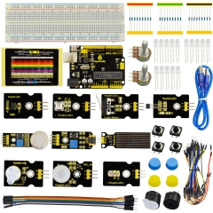Keyestudio Sensor Starter Kit - K2 For Arduino Education Learning Programming+ R3+LM35+PIR Motion /29 Items+Free shipping