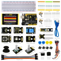Keyestudio Sensor Starter Kit-K4 For Arduino Education Learning Programming W/ R3+ADL345+Joystick+RGB LED+19Projects