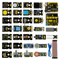 Free shipping !New sensor  starter  kit  For Arduino Education Project+Shield V5+Sensors+Dupont cable+PDF