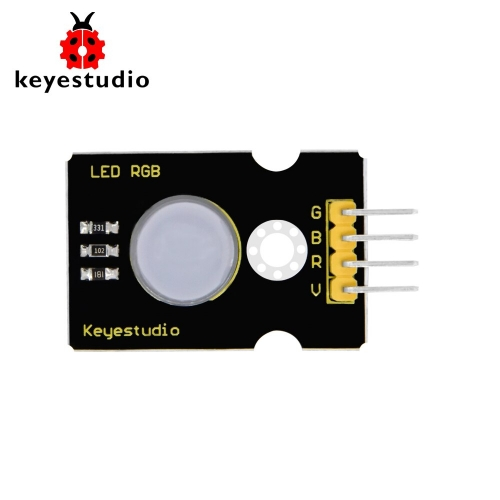 Keyestudio 10mm Highlight Full-color LED RGB Module for Arduino