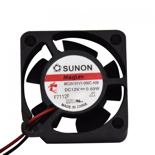NEW SUNON MC25101V1-000C-A99 2510 12V 0.69W DC cooling fan for Arduino