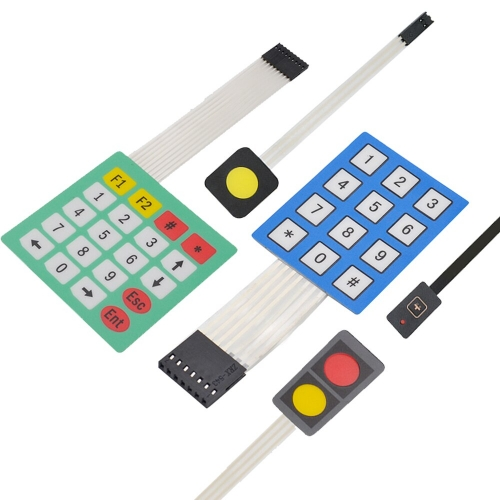 High Sensitivity1/2/12/20Key Membrane Switch Keypad 3*4/ 4*5Matrix Array Matrix Keyboard for Arduino/Robot Car DIY accessories