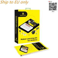 Free shipping to EU !! Keyestudio Maker Learning kit /Starter kit For Arduino Project W/Gift Box+User Manual +1602LCD+Chassis+PDF(online)