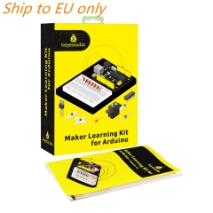 Free shipping to EU!! Keyestudio Maker Starter Kit(MEGA 2560 R3)For Arduino Project W/Gift Box+User Manual+1602LCD+Chassis+PDF(online)+35Project+Video