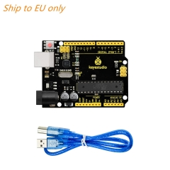 Free shipping to EU !! KEYESTUDIO R3 ATmega328P Development Board +USB Cable