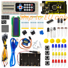 Free shipping to EU! New! Keyestuio Basic Starter Learning Kit For Arduino Education Project With MEGA2560 R3 1602 LCD
