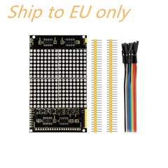 Free shipping to EU! LED dot matrix display module 16 * 16 unlimited cascading / 12864 compatible interfaces for arduino