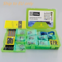 Free shipping to EU !New sensor  starter kit For Arduino Education Project+Shield V5+Sensors+Dupont cable+PDF