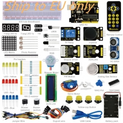 Free shipping to EU !New Keyestudio Advanced Starter Learning Kit For Arduino Education Project with R3 + PDF