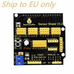 Free shipping to EU ! Keyestudio Sensor Shield/Expansion Board V5 for Arduino
